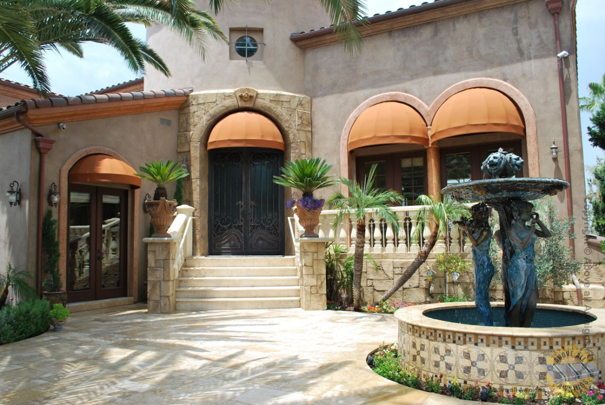 Sunbrella Commercial Residential Awnings Above All Awnings