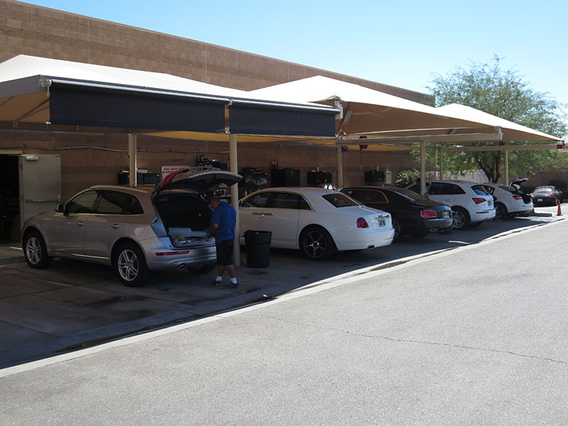 Parking Entry Awning