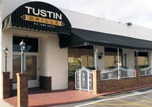 Custom Outdoor Restaurant Seating Awnings and Canopies