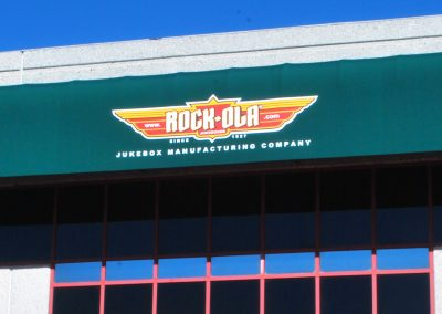 Green Commercial Awning