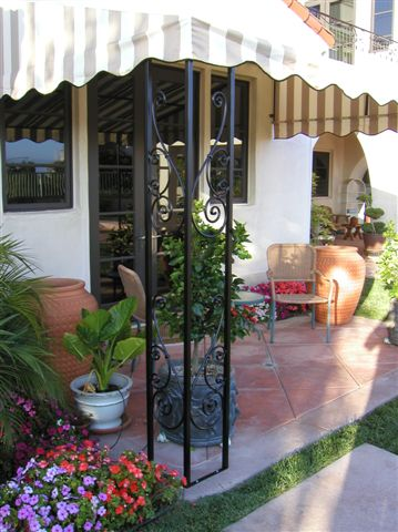 Decorative Patio Cover Pole