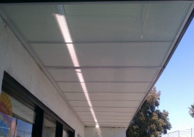 Awning with Enclosed Underside
