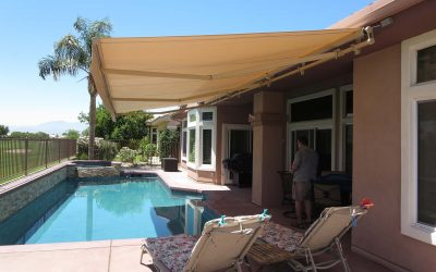 Motorized Patio Cover Awning
