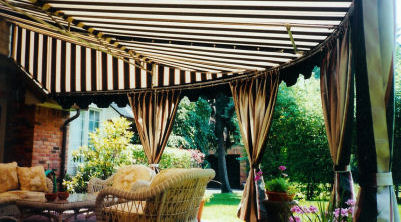 Round Patio Cover