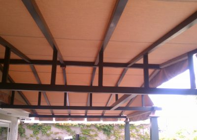Stationary Cover Trusses
