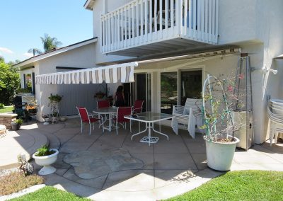 Mission Viejo Striped Awning